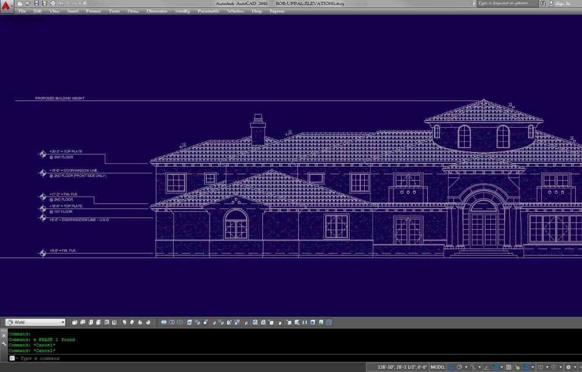 cad Virtual Building construction